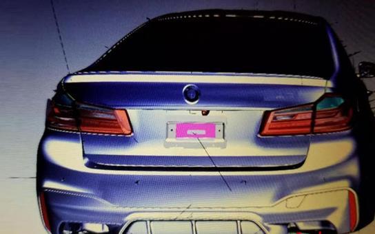 全新一代宝马M5外观泄露图(图片来源于网络)-西子汽车 - 惠州购车